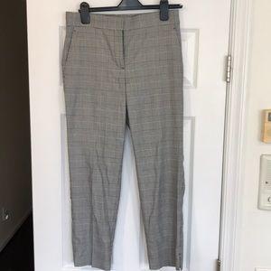 Ann Taylor Cropped Plaid Pants